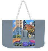 Statue In The Square Weekender Tote Bag