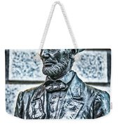 Statue Of Abraham Lincoln #7 Weekender Tote Bag