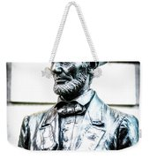 Statue Of Abraham Lincoln #8 Weekender Tote Bag