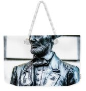 Statue Of Abraham Lincoln #9 Weekender Tote Bag