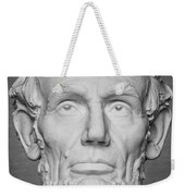 Statue Of Abraham Lincoln - Lincoln Memorial #6 Weekender Tote Bag