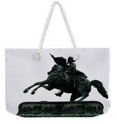 Statue Of Archduke Charles, Heldenplatz, Vienna Weekender Tote Bag