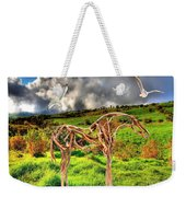 Statue Of Branches 3 Weekender Tote Bag
