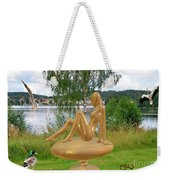 Statue Of Girl 2 Weekender Tote Bag