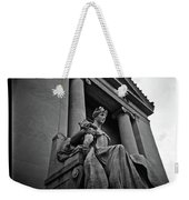 Statue Of Justice At The Courthouse In Memphis Tennessee Weekender Tote Bag