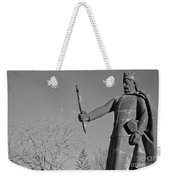 Statue Of King Afonso The Third. Portugal Weekender Tote Bag