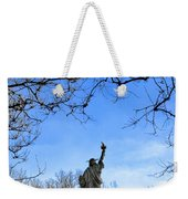 Statue Of Liberty Back View  Weekender Tote Bag