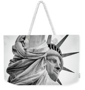Statue Of Liberty, Lateral Portrait Weekender Tote Bag