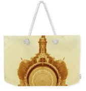 Statue Of Liberty Old Yellow World Weekender Tote Bag