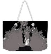 Statue Of Liberty Power Outage 1942-2014 Weekender Tote Bag