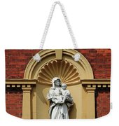 Statue Of Mother And Child Weekender Tote Bag
