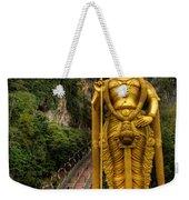 Statue Of Murugan Weekender Tote Bag by Adrian Evans