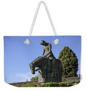 Statue Of St Francis Of Assisi  Weekender Tote Bag