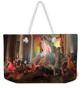 Statues At Ceasars Palace Weekender Tote Bag