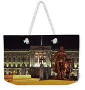 Statues View Of Buckingham Palace Weekender Tote Bag