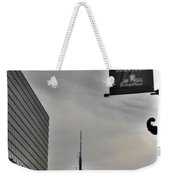 Staying Downtown Weekender Tote Bag
