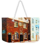 St.dominique Street Synagogue Weekender Tote Bag