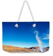 Steam At El Tatio Geysers Weekender Tote Bag