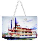 Steam Boat Weekender Tote Bag