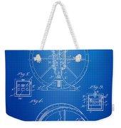 Steam Engine Blueprint Weekender Tote Bag