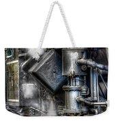 Steam Engine Detail Weekender Tote Bag