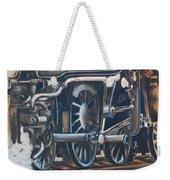 Steam Engine Wheels Weekender Tote Bag