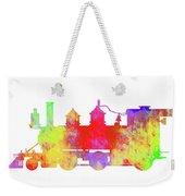 Steam Locomotive Art Weekender Tote Bag