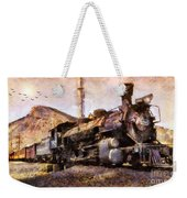 Steam Locomotive Weekender Tote Bag
