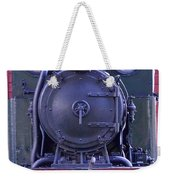 Steam Locomotive Train Weekender Tote Bag