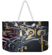 Steam Tractor Weekender Tote Bag by Richard Le Page
