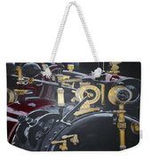 Steam Tractor Weekender Tote Bag