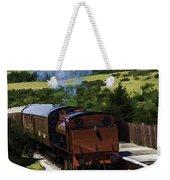 Steam Train 2 Oil Painting Effect Weekender Tote Bag