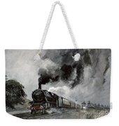 Steam Train At Garsdale - Cumbria Weekender Tote Bag