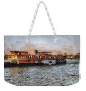 Steamboat On The Nile Weekender Tote Bag