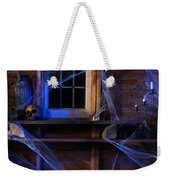 Steaming Cauldron In A Witch Cabin Weekender Tote Bag