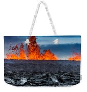 Steaming Lava And Plumes Weekender Tote Bag