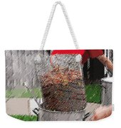 Steaming Mud Bugs For Falvor Weekender Tote Bag
