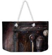 Steampunk - Handling Pressure  Weekender Tote Bag