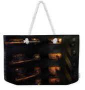 Steampunk - Pull The Switch Weekender Tote Bag by Mike Savad