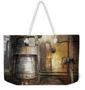 Steampunk - Silent Into The Night Weekender Tote Bag