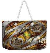 Steampunk - Spiral - Space Time Continuum Weekender Tote Bag