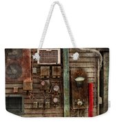 Steampunk - The Future  Weekender Tote Bag by Mike Savad