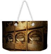 Steampunk - Naval - Electric - Power Grid Weekender Tote Bag
