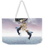 Steampunk Ocean Tale Weekender Tote Bag