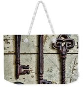 Steampunk - Old Skeleton Keys Weekender Tote Bag