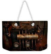 Steampunk - Plumbing - The Valve Matrix Weekender Tote Bag