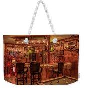 Steampunk Speakeasy Mancave Bar Art Weekender Tote Bag