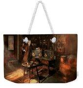 Steampunk - The Time Traveler 1920 Weekender Tote Bag