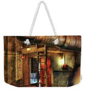 Steampunk - Where The Pipes Go Weekender Tote Bag