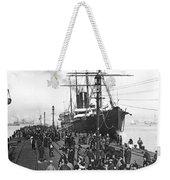 Steamship In Japan Weekender Tote Bag